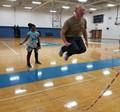 Principal jumping rope