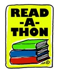 stack of books for read-a-thon