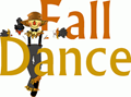 fall dance with scarecrow