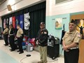 veterans standing and being recognized