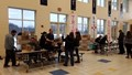 chromebooks being distributed to students