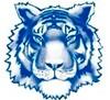 twinsburg city school district blue tiger logo