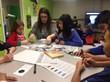 students coding ozobots