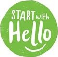 say hello logo