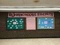 bulliten boards displaying words always choose kindness