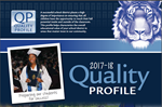 cover of 2017-2018 quality profile