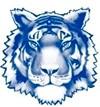 blue twinsburg tiger logo
