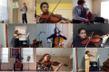 orchestra solo and ensemble students