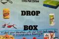 ths pet drive sign