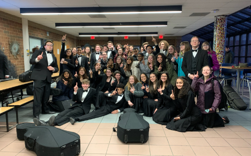 Twinsburg Orchestra at Contest