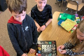 students learn about rocks and minerals