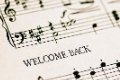 welcome back music