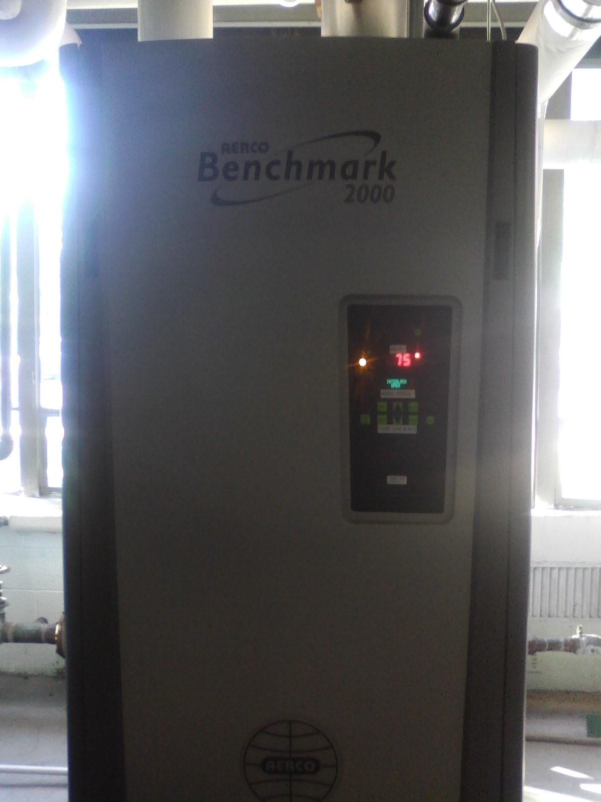 Benchmark 2000 Boiler 1