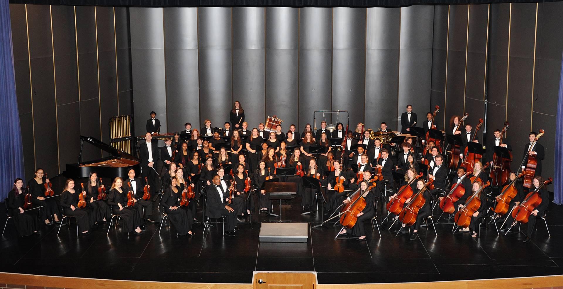 THS Symphony Orchestra 2017-2018