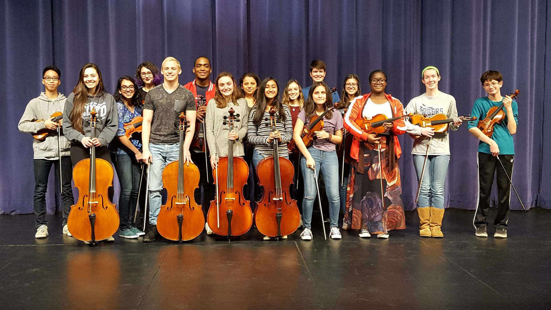 2018 THS Solo and Ensemble Participants