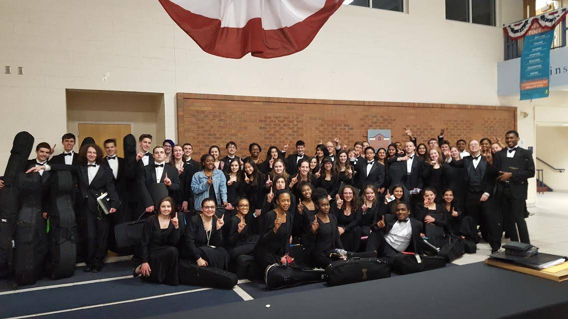 2017 Orchestra after State Contest