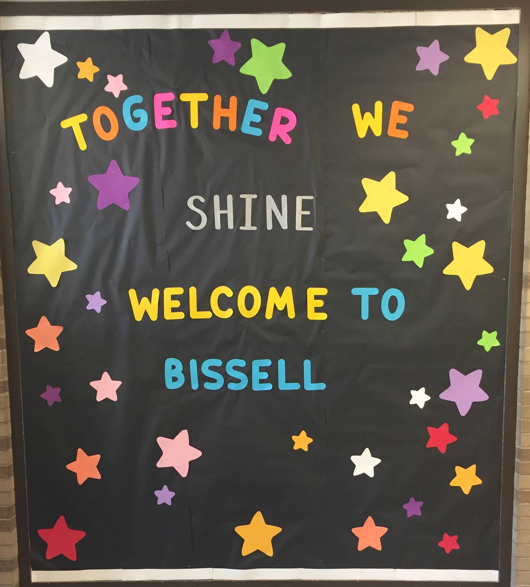 Together we Shine! Welcome to Bissell