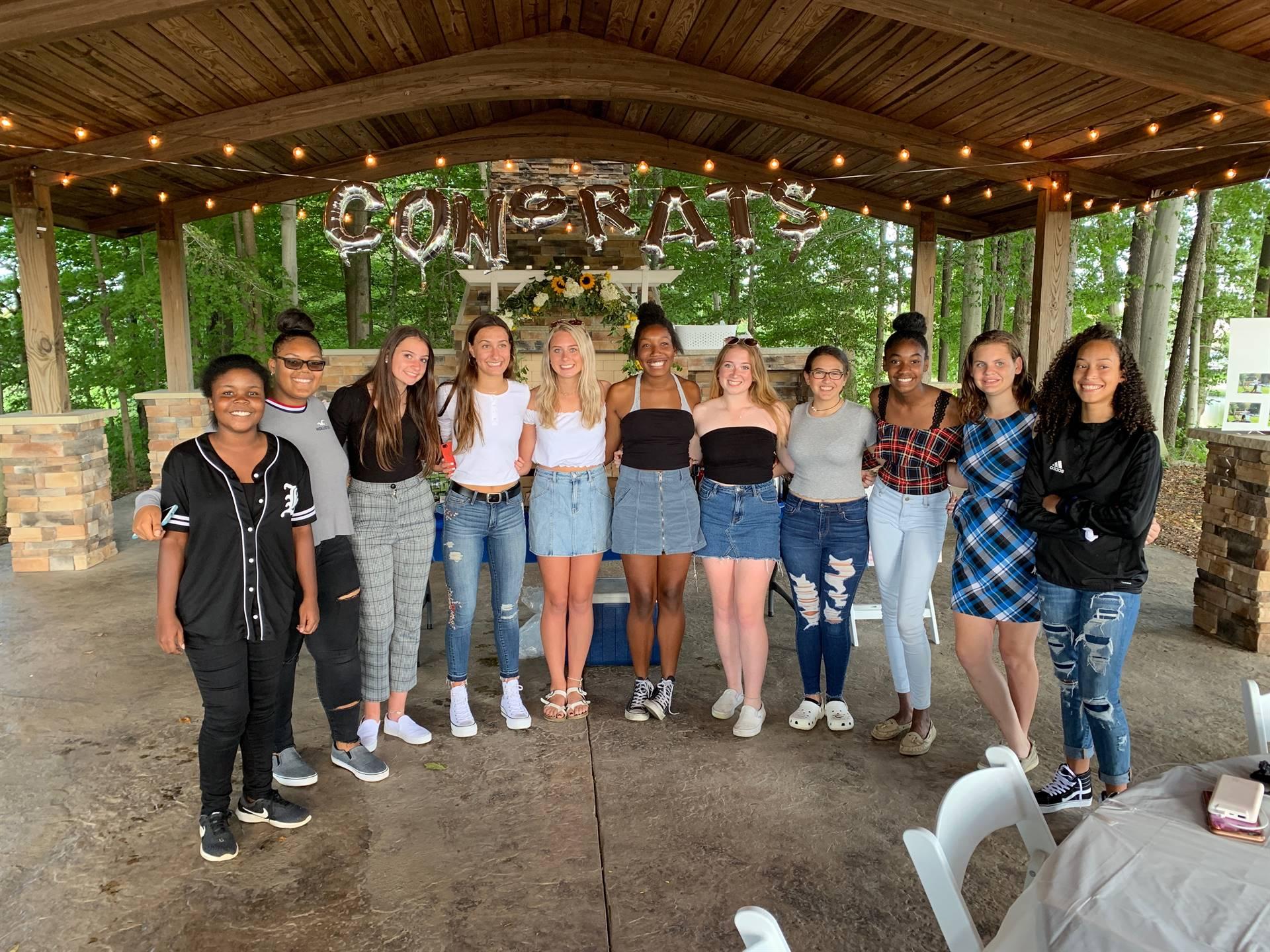 Senior Night 2019 Team