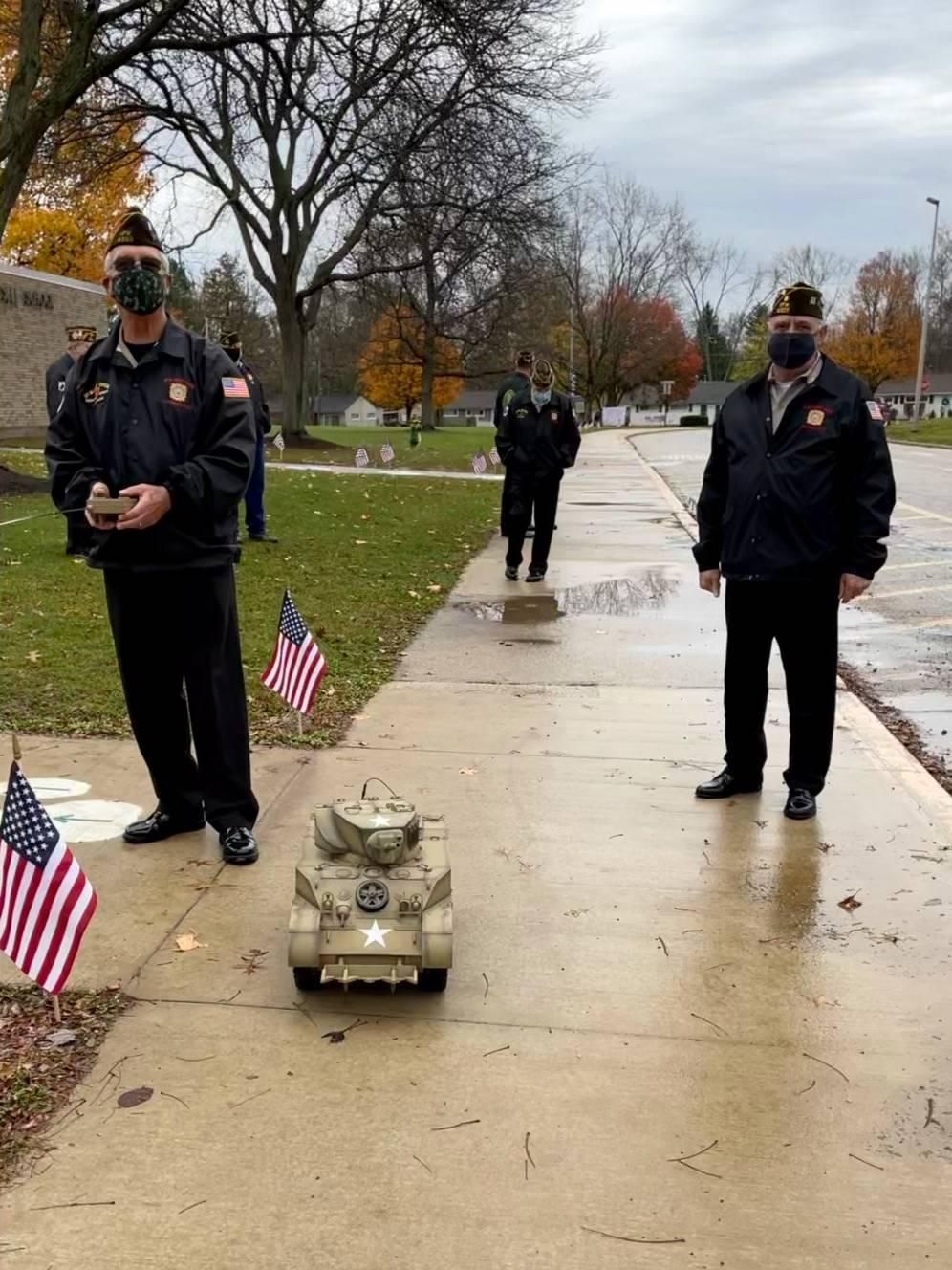 Wilcox Honors Veterans Day 2020
