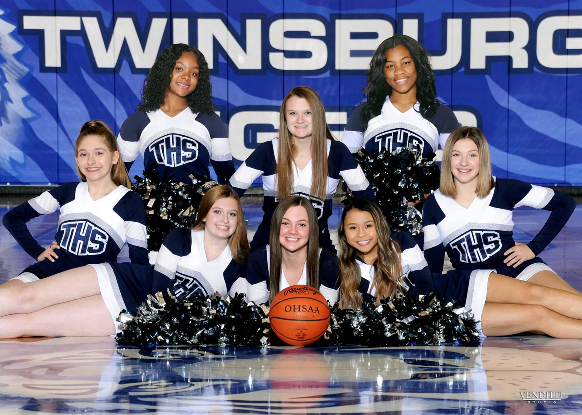 JV Basketball Cheer 2019-2020