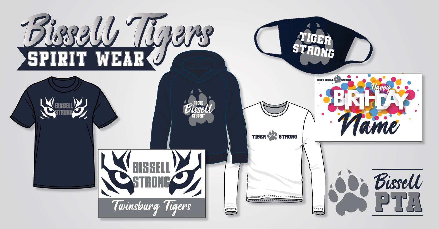 Bissell Tiger Spirit Wear