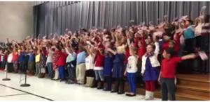 Bissell Elementary School Veteran's Day Celebration
