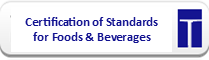 Certification of Standards Governing Foods and Beverages Sold