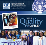 Clipart of Cover of 2015-2016 Quality Profile